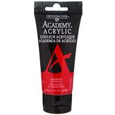 Cadmium Red Medium Hue Academy Acrylic Paint - 2.5 Ounce