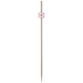 Pink Bead Bamboo Skewers