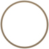 Wood Wreath Ring - 12