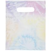 Rainbow Pastel Tie-Dye Zipper Treat Bags