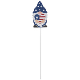4th Of July Heart Gnome Pick