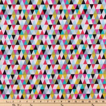 Bright Triangle Apparel Fabric