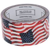 American Flag Art Project Tape