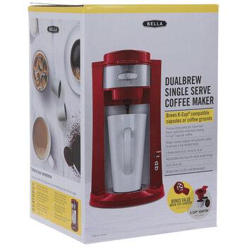 Red Dualbrew Single Serve Coffee Maker