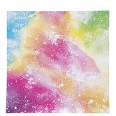 "Bright Watercolor Scrapbook Paper - 12"" x 12"""