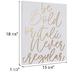 Be Bold Or Italic Wood Wall Decor
