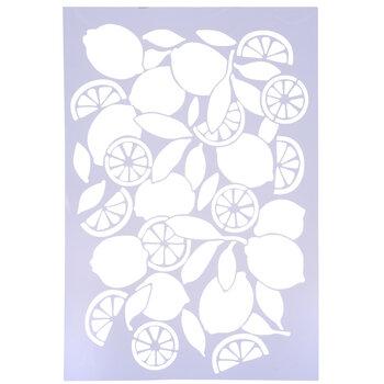 Lemon Stencil