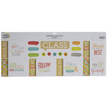 Class Rules Bulletin Board Set