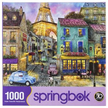 Eiffel Magic Puzzle