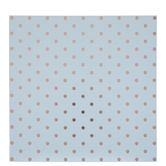 "Rose Gold Foil Polka Dot Scrapbook Paper - 12"" x 12"""