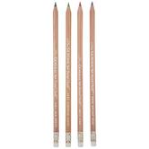 General's Mermaid Pastel Chalk Pencils - 4 Piece Set