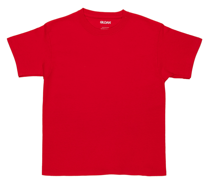 Red Youth T-Shirt - Small | Hobby Lobby |