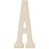 Vintage Sign Wood Letters A - 4""