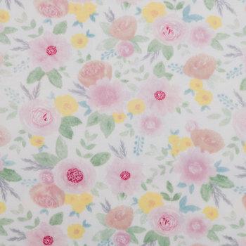 Floral Minky Fleece Fabric