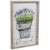 Blessed Lavender Metal Wall Decor