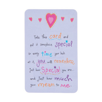 How Special You Are Wallet Card