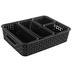 Black Storage Container Set