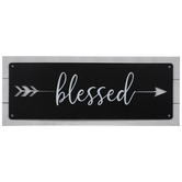 Blessed Arrow Wood Wall Decor