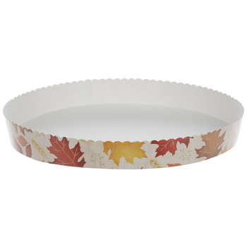 Fall Leaves Paper Pie Pans