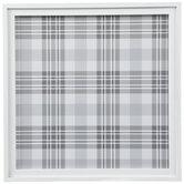 White & Gray Plaid Memo Board