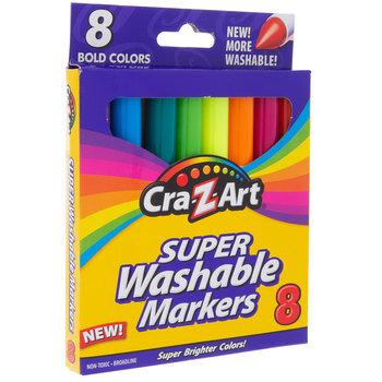 Bold Super Washable Broadline Markers - 8 Piece Set