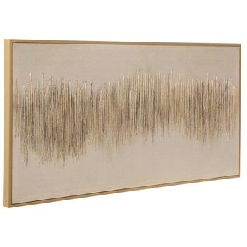 Gold Modern Art Canvas Wall Decor