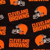 NFL Cleveland Browns Fleece Fabric
