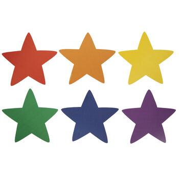 Multi-Color Stars Cutouts