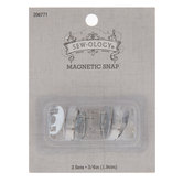 """Nickel Sew-On Magnetic Snaps - 3/4"""""""