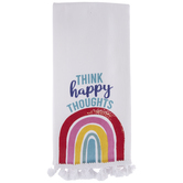 Think Happy Thoughts Kitchen Towel