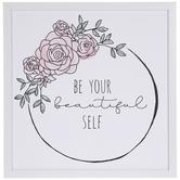 Be Your Beautiful Self Wall Wood Decor