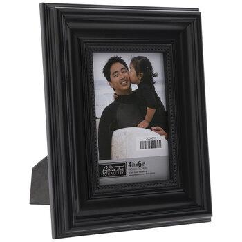 Black Beaded Beveled Frame