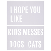 Hope You Like Doormat Stencils