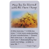 May You Be Blessed Wallet Card