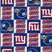 NFL New York Giants Fleece Fabric