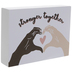Stronger Together Wood Wall Decor