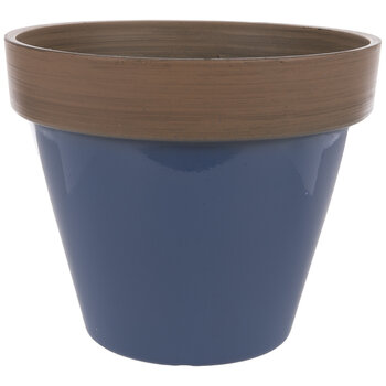 Two-Tone Flower Pot
