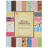 "Four Seasons Paper Pack - 8 1/2"" x 11"""
