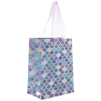 Iridescent Mermaid Scale Gift Bag - Small