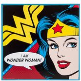 I Am Wonder Woman Wood Wall Decor