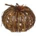 Rattan Light Up Pumpkin - Large