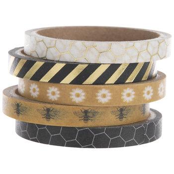 Gold & Black Bee Washi Tape