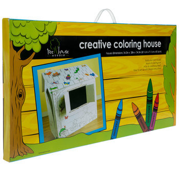 Creative Coloring House