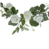 White Ranunculus & Rose Swag