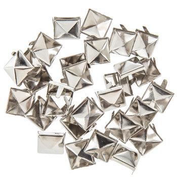 """Nickel Pyramid Spots - 3/8"""""""