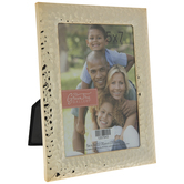 "Gold Hammered Metal Frame - 5"" x 7"""