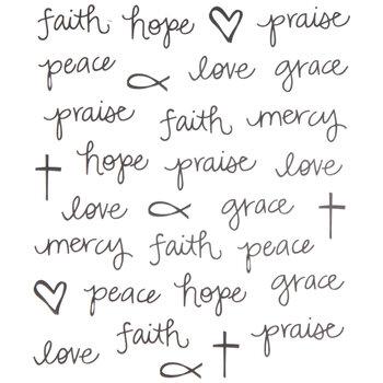 Faith Doodle Stickers