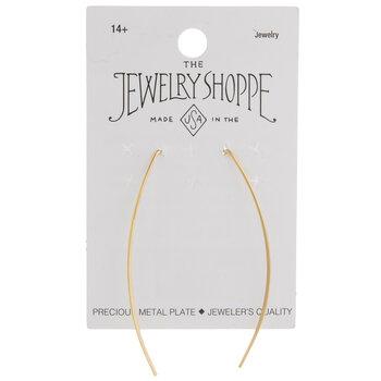 Navette Wire Earrings