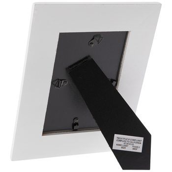 Distressed White Wood Frame