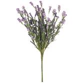 Purple Berry & Wildflower Bush